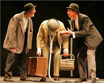 waiting for godot act  vladimir goggling out of his head